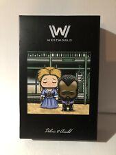 Westworld Lootcrate Super Emo Friends Dolores & Arnold Figures w/ Scene Backdrop