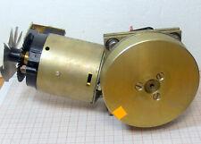 Electric motor 12V DC - gear - pulley - Encoder [M4]