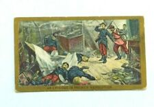 American Tobacco Company Cigarette Card c.1901 Battle Scenes - An Episode in Fr