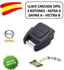 LLAVE CARCASA OPEL MERIVA CORSA ASTRA OMEGA ZAFIRA VECTRA 2 BOTONES ESPAÑA