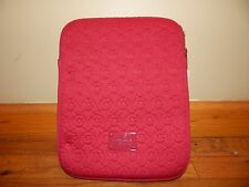 Michael Kors NWT Neoprene Lacquer RED Ipad tablet Case