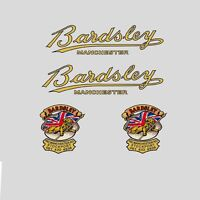Bardsley Calcamonías para bicicleta, Transfers, ADHESIVOS N.100
