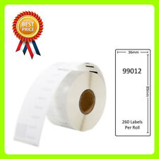 1 Rolls 99012 Labels Compatible for Dymo/Seiko 36 x 89mm 260 labels per roll
