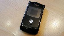 Motorola Razr v3 Couleur Noir/Foliert/SANS SIMLOCK avec chaque SIM utilisables...