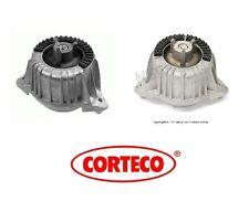 For BMW W212 E350 Bluetec Pair Set of 2 Engine Motor Mounts Left & Right Corteco