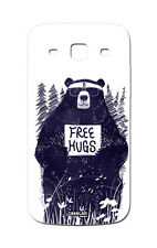 CUSTODIA COVER CASE ORSO FREE HUGS FUNNY BEAR PER SAMSUNG GALAXY S3 NEO i9301