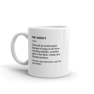 Pop Addict Mug for Funk Pop Collectors