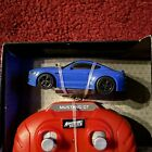 1:64 Ford Mustang Blue Adventure Force RC Remote Control Nano Racer New  Lights