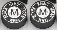 2 Genuine Kamui BLACK Tips (MEDIUM = M)