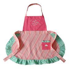 Cupcake Adult Ruffled Apron St. Nicholas Square 26x29 Pink NWT $30