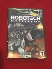 Nintendo Game Cube Video Game Robotech Battle Cry Rated T