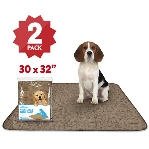 30x32'' Paw Inspired Washable Pee Wee Pads | Reusable Puppy Whelping Dog Pads XL