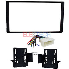 Radio Replacement Dash Mounting Kit Double-DIN & Wire Harness for Hyundai/Kia
