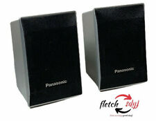 2 Panasonic SB-SF441 Silver Surround Speakers Tested & Working
