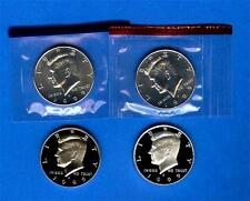 1999 P+D Kennedy Half Dollars ~ Uncirculated in Original Mint Cello