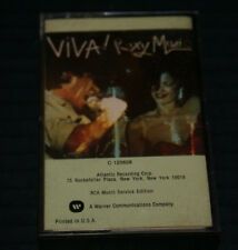 Roxy Music- Viva! Roxy Music- RARE PAPER LABELS 1976 CASSETTE TAPE OUT OF PRINT