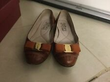 Salvatore Ferragamo Leather Solid Flats for Women