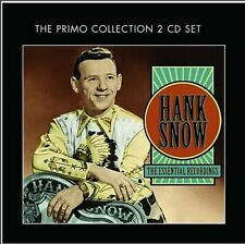 Hank Snow: The Original 40 Essential Hits .. 2 Cd's .. I'm Movin' On .. Oldies