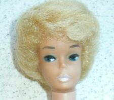 Rare Vintage Bubblecut Barbie White Ginger? or Platinum, Wow!