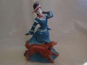 "Royal Doulton Figurine 1994 - ""AUTUMNTIME"" - HN 3621  -  English Bone China"