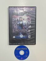 Lord of the Rings: Return of the King (GameCube No Manual - Hollywood Video Case