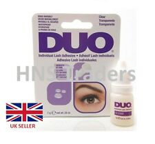 GENUINE DUO Individual False Eyelash Glue Adhesive Clear/White Tone 7g **OFFER**