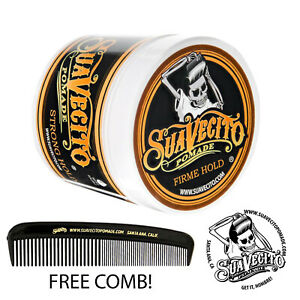 Suavecito Firme (Strong) Hold Pomade 4 oz. Can