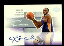 2004 UD Ultimate Collection Ultimate Signatures Kobe Bryant Lakers HOF AUTO