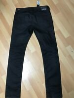 MADE ITALY Mens Diesel THAVAR STRETCH DENIM 0667I BLACK Slim W31 L32 H6 RRP£250