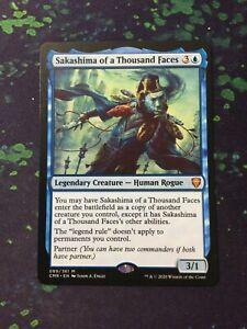 MTG, Sakashima of a Thousand Faces. Commander Legends Mythic Rare NM