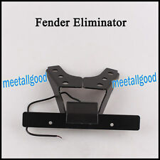 Fender Eliminator For SUZUKI GSXR1000 09 10 11-13 Black License Plate Frame cl
