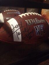 Terrell Owens Auto Football! Rare Ins! 49ers Cowboys Eagles Future Hofer!
