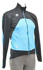 Sportful Fiandre Light Wind Cycling Jacket Men SMALL Blue Road Bike Windstopper