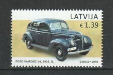 Latvia 2018 Cars, Ford MNH stamp