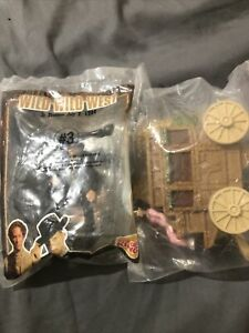 Burger King Wild Wild West Toys #4 and #3 (1999)