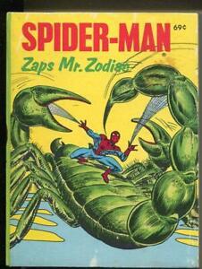 Spider Man, Zaps Mr. Zodiac- Whitman Big Little Book 1976 -Fine