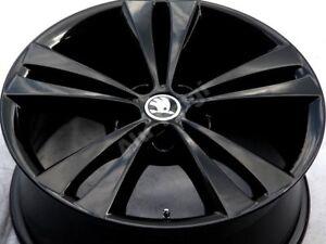 4X ORIGINAL SKODA SUPERB VW OCTAVIA 18 ZOLL 1Z0601025AD N18.66