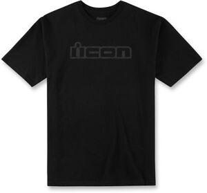 Icon Motosports OG Short-Sleeve Tee T-Shirt (Black) Choose Size