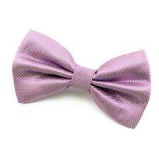 Noeud Papillon pour Homme ou Femme Vieux rose en soie mélangée  Silk men Bow tie