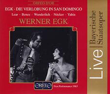 EGK: DIE VERLOBUNG IN SAN DOMINGO. Lear, Bence, Wunderlich, Nöcker, 2 CDs, NEU