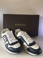 Gucci Soft Calf Leather Trainers Size 6.5