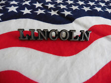 US Auto Car Emblem Schriftzug Ford LINCOLN Metall Deko Deco Logo Typ Type USA I