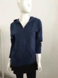 Women Zip Up Fleece Hooded Sweatshirt Jacket Workout Tops Long Sleeve Hoodie