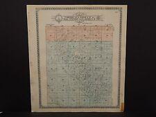 North Dakota Bottineau County Map Dalen Township  1910 Q6#44