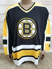 Boston Bruins NHL Vintage Starter Mens Replica Jersey Size Large