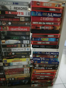 REGALO LOTTO VHS 109 videocassette - Western FIlm Serie etc FREE