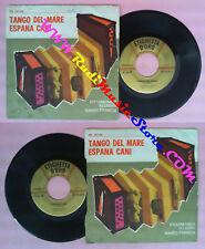LP 45 7''FISARMONICA ALLEGRA NANDO FRANCIA Tango del mare Espana no no cd mc dvd