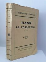 Guante Piedra Descaves&etienne Parrilla Hans El Enterrador L. E. F Pin 1931