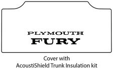 1965 1968 Plymouth Fury Trunk Rubber Floor Mat Cover with MC-070 Fury