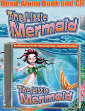 Kids Read-Along Story Book & CD THE LITTLE MERMAID New!